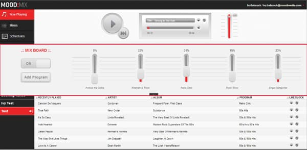 business music streaming
