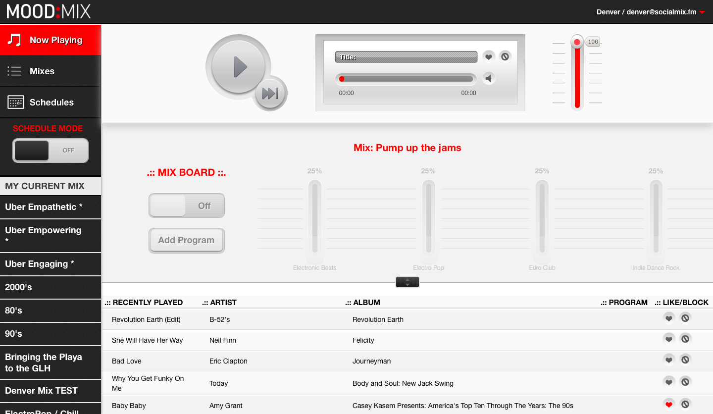 music streaming for business